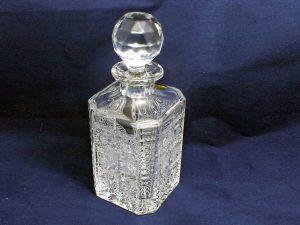 kristalova flasa klasicky brus 1