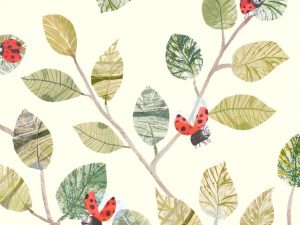 W586 01 lady bugs wallcovering  01