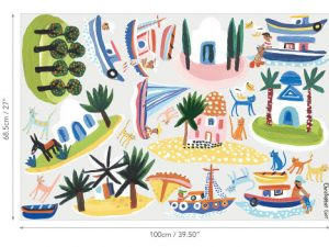 W592 01 island hopping wall stickers island hopping 02