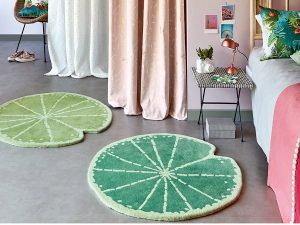 lily pad rugs room