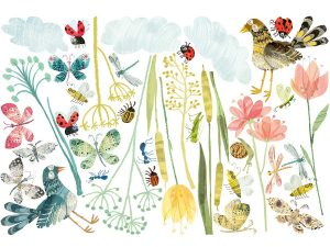 meadow wallsticker