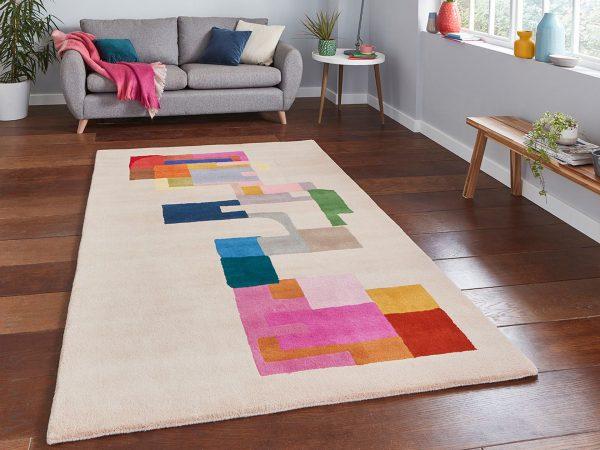 inaluxe hey ho let s go ix14 designer wool rug 7